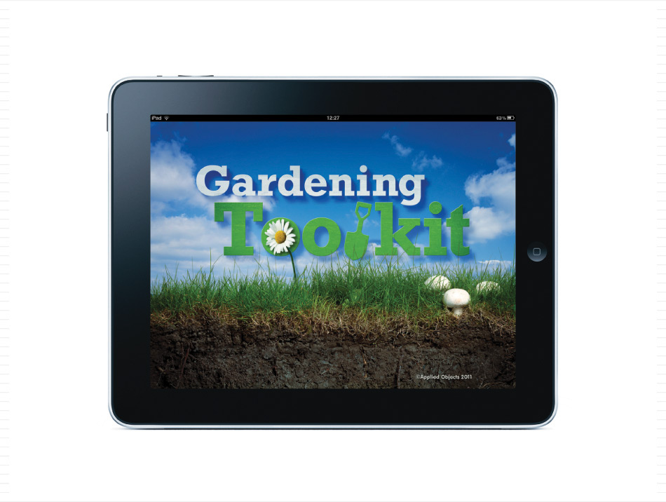 The Gardening Toolkit Ipad App